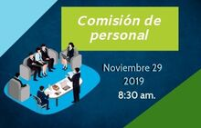 Comisión de personal